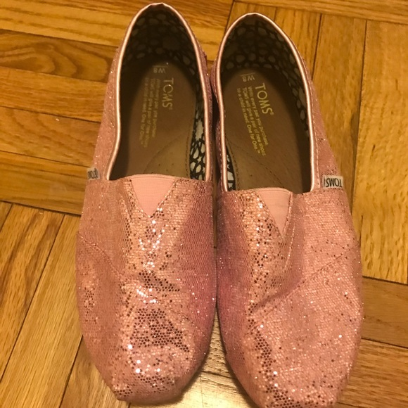 66543a900910 Rose glow iridescent glitter classic TOMS. M 5ae929226bf5a605656c9eee